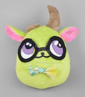 Phoebe the Puff Monster Plush by SewDesuNe