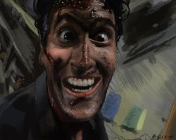 Evil Dead Bruce by ChristopherCrow