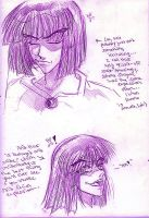 Xelloss Facial Expressions 1 by AmberPalette