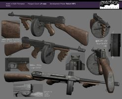 Brothers In Arms Tommygun by strangelet