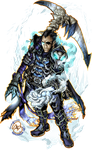 Commission: Icy Knight Insaru by karniz