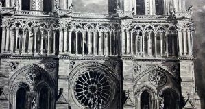 Notre Dame Close up Detail by AH86