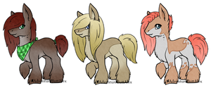 Shire Pony Adopts: CLOSED by Key-Ring