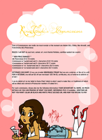 Commissions! (NEW PRICES) by KireiTsuki