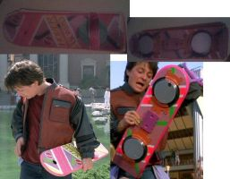 Hover Board From Back To The Future Model by MarKZ92
