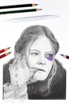 Daisy Domergue (The Hateful Eight) by MarkusBogner