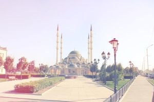 Mosque Grozny by old-grozny