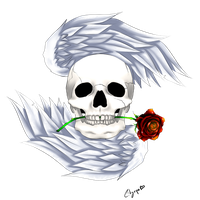 Winged Skull logo by citgepolol