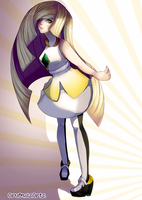 Lusamine from Pokemon Sun and Moon by AruOwlsArts