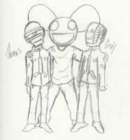 Mau5 and the Gang by Lenore619-Void