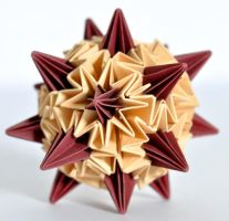 Origami Sea Urchin by SatKyoyama