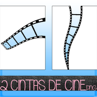 Cintas de Cine PNG by Tutoriales-Paris