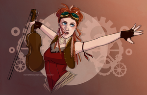 Lindsey Stirling by HetteMaudit