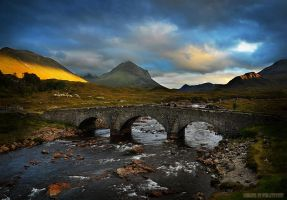 Sligachan Three by Nelleke