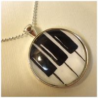 Piano Key Necklace by cellsdividing