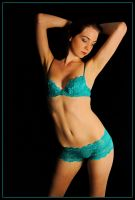 Kathryn - blue lingerie 4 by wildplaces
