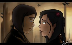 Legend of Korra x Star Wars Crossover (Korrasami) by fuckxxback