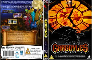 Gargoyles dvd cover by cutnpaste-since2011