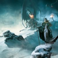 Fortress Draconis 3 by MarcSimonetti