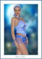 Beauty in Blue by CaperGirl42