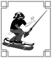 Darth Skater by ArtbyBeans