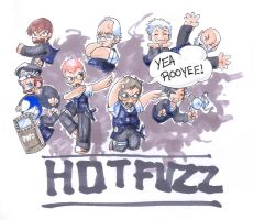 Hot Fuzz - Chibi by RErrede