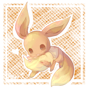 .eevee by Effier-sxy