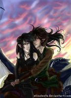 Eragon and Arya - Valentines by ElizaLento