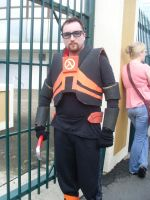 Supanova 2009 Gordon Freeman by Galener