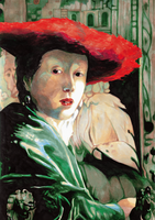The Girl with the Red Hat by zipple