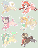 offer 2 adopt canines by mesavy