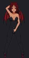 Talona Blackthorn - Cheeky Succubus by T1p2