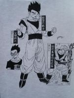 Dragonball Z - Characters Son Gohan Part1 by TriiGuN