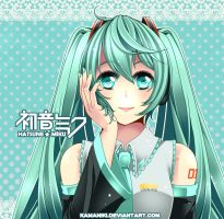 Vocaloid: some girl by Kamaniki