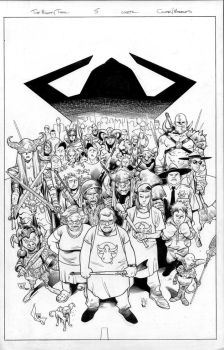 the mighty thor 5 cover by MarkMorales