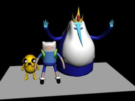 3D Adventure Time by DJAMJR805