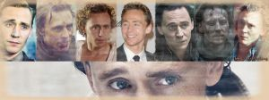 Characters from Tom Hiddleston - Facebook Cover 2. by LuluDarling