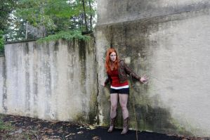 Amy Pond- Dressed for Rio by moonflower-lights