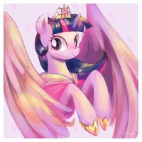 Princess Twilight Sparkle by amy30535