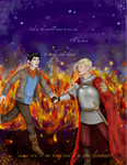 Merlin: As the world comes to an end... by commoner-pocky