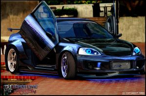 Honda Civic Carbon Edition by stjoseph1903