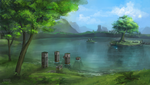 Lake Hylia by Ceavit