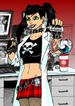 Abby Sciuto of NCIS by RedSpider2008