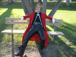 -Edward Elric 1- by Hyokenseisou-Cosplay