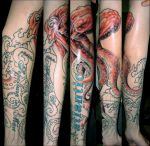 octopus sleeve collab by opioid