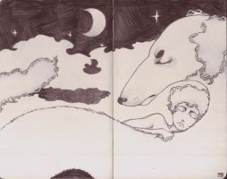 The Dog Sleep to night by Tanami-M