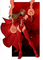 Scarlet Witch WatX COLORED 09 by LucasAckerman