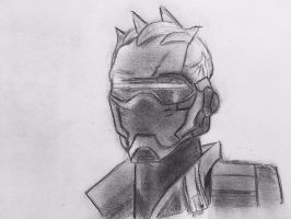 Soldier 76 by CaptainEdwardTeague