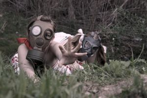 The Gas Mask Girls- Salvation by DascocoCosplay