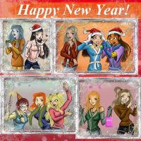 Winter holidays of bad guys girlfriends by GoldieMilrose